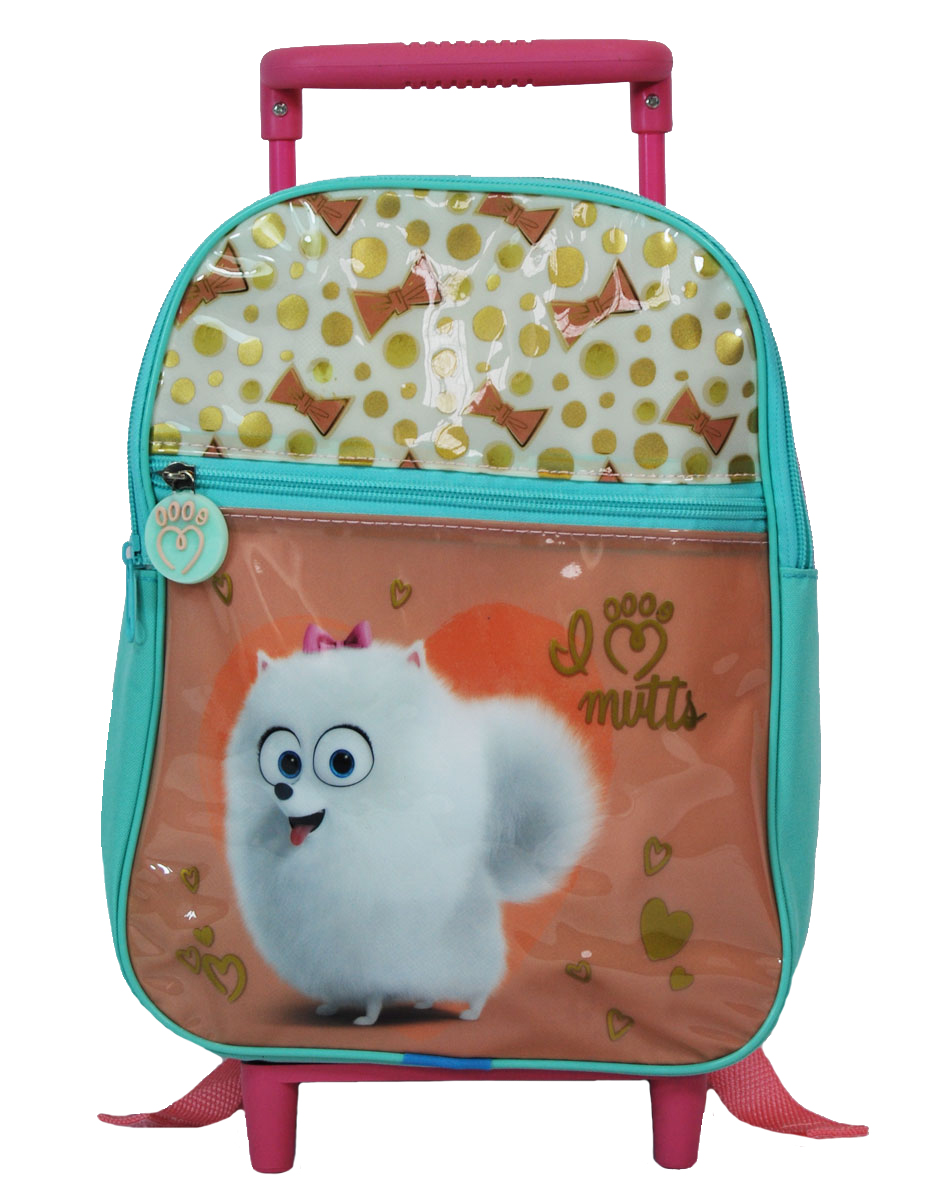 f1ec0fd5d2 Secret Life of Pets – BACKPACK SL OF PETS NURSERY 29CM WITH FRONT ZIPPER  POCKET WITH TROLLEY D.210