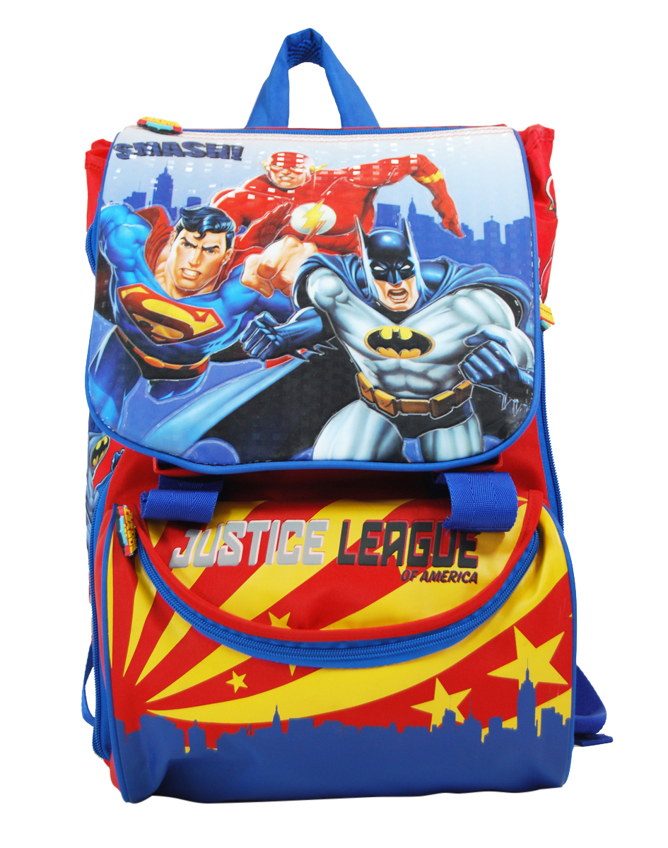 1e0bf9df04 Justice League - SQUARE BACKPACK JUSTICE LEAGUE 41CM D.578